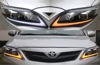 Фары передние в стиле Lexus для Toyota Corolla 2011-13г