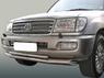 Защита переднего и заднего бампера (дуги) хром для Toyota Cygnus