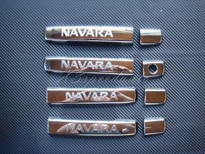 Хромированные накладки на дверные ручки именные, США, для Nissan Navara \ Pathfinder 2005-