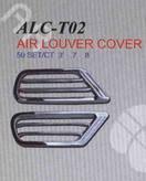 Хромированные накладки на воздуховоды ALC-T02 для LAND CRUISER 100