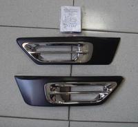 Хромированные накладки на туманки HONDA CR-V (00-04)