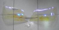 Очки на фары (Хамелеон) для TOYOTA CROWN 170 (99-03)