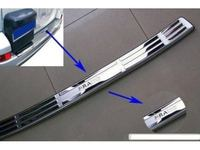 Накладка на задний бампер для Toyota Prado120