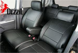 Модельные чехлы DEZZIL для Toyota LAND CRUISER 80 черные
