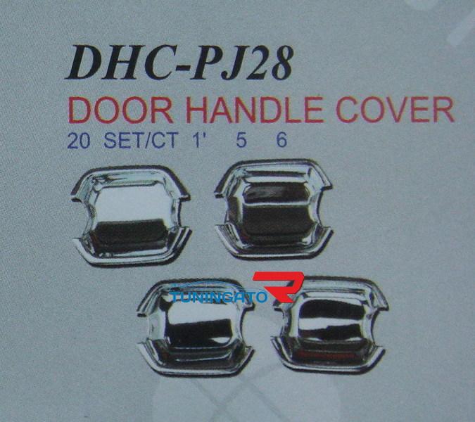 Хромированная накладка под ручки DHCPJ28 MITSUBISHI PAJERO MONTERO 99-06