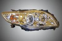 Фары ангельские глазки хром для Toyota Corolla 2007-10