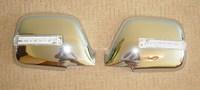 Хромированные накладки зеркал с поворотниками LAND CRUISER 80