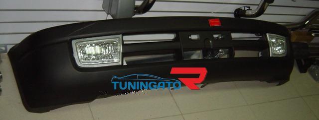 Бампер передний пластиковый FJ90 для LAND CRUISER PRADO (96-01)
