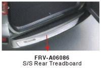 Накладка на задний бампер FRV-A06086 RAV4 2006