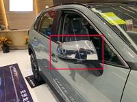 Хром накладки на зеркала для Toyota Rav4 2019+