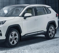 Хром молдинги на двери для Toyota Rav4 2019+