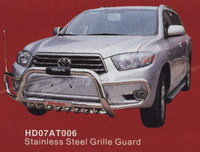Кенгурятник передний HD07AT006 TOYOTA HIGHLANDER (07-)