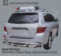 Защита заднего бампера HD07BT003 TOYOTA HIGHLANDER (07-)