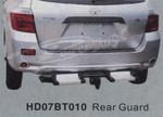 Защита заднего бампера HD07BT010 HIGHLANDER (07-)