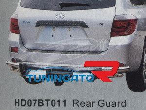 Защита заднего бампера HD07BT011 HIGHLANDER (07 -)