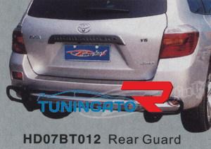 Защита заднего бампера HD07BT012 HIGHLANDER (07-)