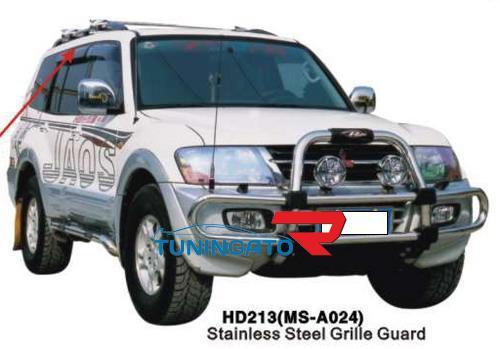 Кенгурятник передний HD213 MSA024 MITSUBISHI PAJERO MONTERO