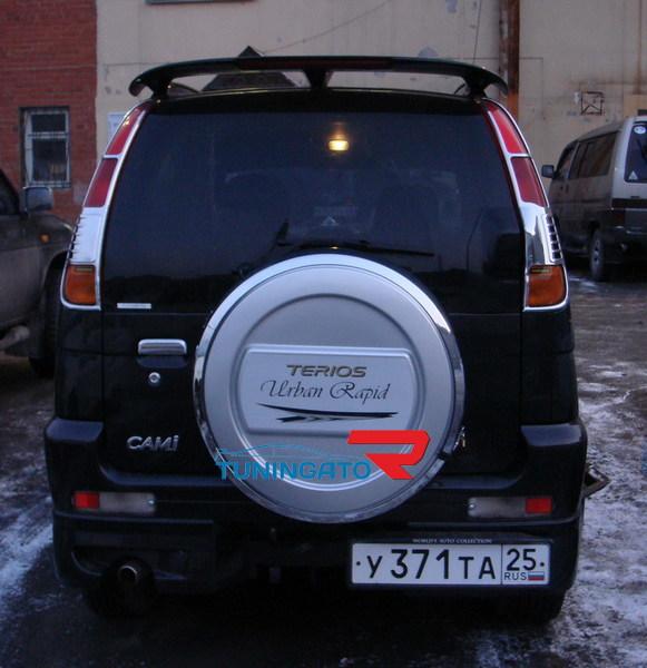 Колпак запасного колеса пластик для Toyota Cami \ Terius