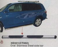 Подножки боковые HD331 (CT002) TOYOTA HIGHLANDER (07 -)