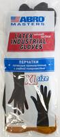 Перчатки латексные промышленные c гладкой поверхностью на ладони (Размер XL)
