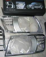 Хромированные накладки на фары HLRM15 MITSUBISHI PAJERO 99