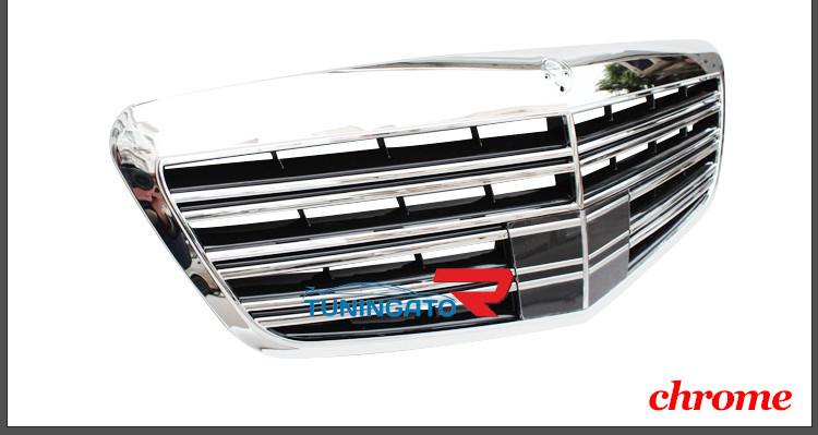 Решетка радиатора AMG 65 Style для Mercedes W221 S-Class 2010+
