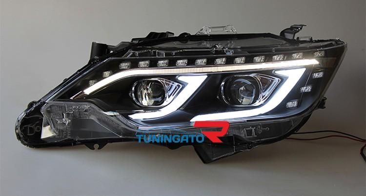 Тюнинг фары Mercedes Style для Toyota Camry 2015-