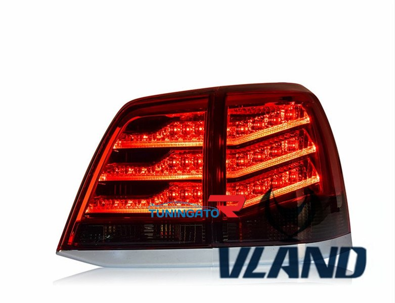 Стоп-сигнал в стиле LEXUS дымчатые для Land Cruiser 200 07-
