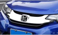 Хром накладка на решетку радиатора для Honda Fit 2013+