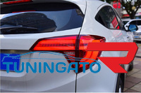 Стоп-сигналы дымчатые красные для Honda Vezel