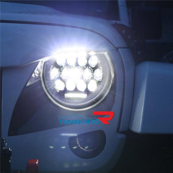 Фары диодные для Toyota FJ Cruiser\ JEEP \ Cruiser 70\ Pajero