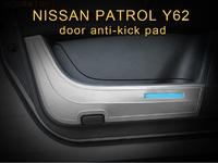 Защитные накладки на пластик двери для Nissan Patrol 2010-16г