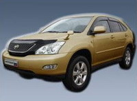 Дефлектор капота TOYOTA HARRIER (02-06)