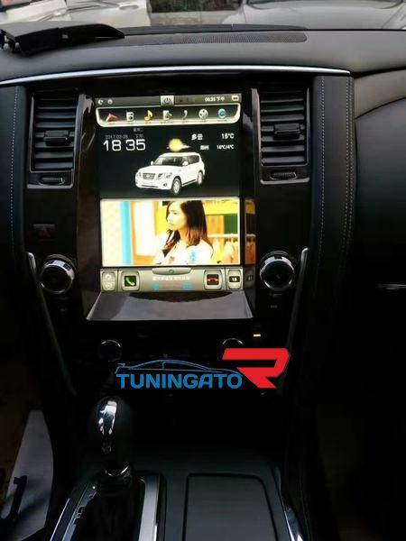 Штатная магнитола 12 дюймов для Nissan Patrol 2010+ Android