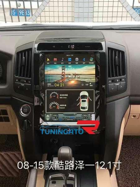 Штатная магнитола Toyota Land Cruiser 2008-2015 Android