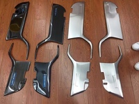 Защитные накладки на пластик двери для Land Cruiser 200 (08-17г)