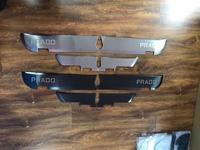 Защитные стальные накладки на двери для Land Cruiser Prado 150 (09-17г)