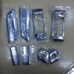 Хромированные накладки на ручки дверей для Toyota Hice 200
