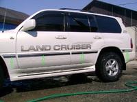 Хромированные накладки на борт кузова средние для LAND CRUISER 100