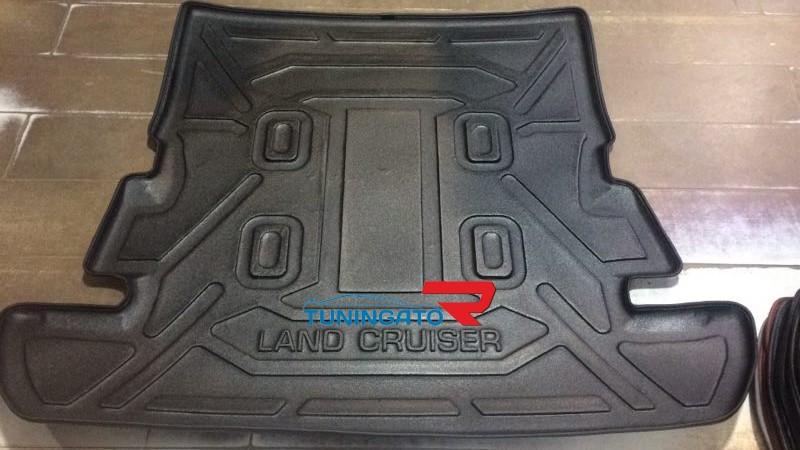 Коврики в багажник модельные для Toyota Land Cruiser 200 (2007г+)
