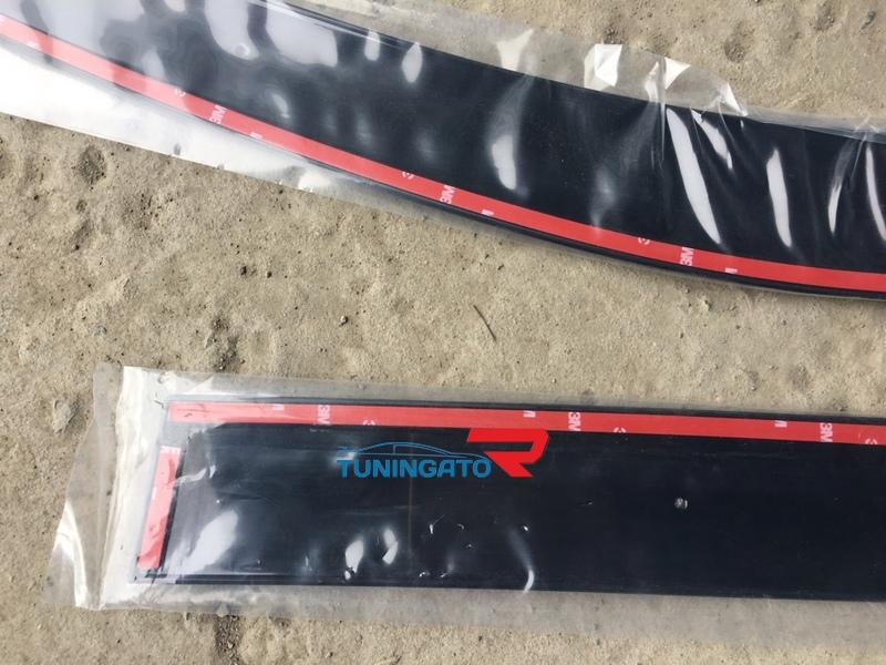 Ветровики дверные для TOYOTA HILUX PICK UP / VIGO (2012-)