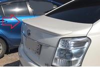 Спойлер задний на багажник для Toyota SAI 2009-2013г.