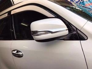 Хром накладки на зеркала Sport Plus Lexus LX570\ 450d (2015+)