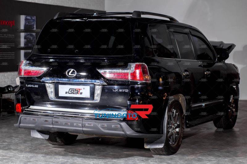 Комплект рестайлинга в стиле TRD для Lexus LX 570 в 2017г.