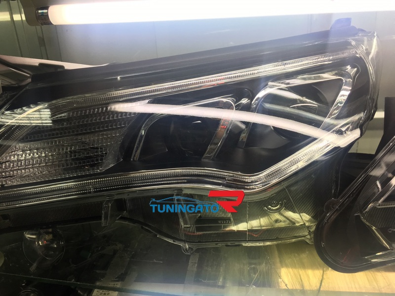 Фары тюнинг OSRAM для Toyota RAV4 2015+