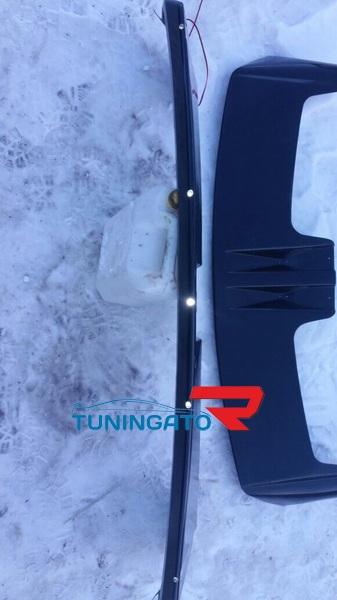 Козырёк на лобовое стекло OffRoad для TOYOTA HILUX SURF / 4RUNNER (1995-2001)