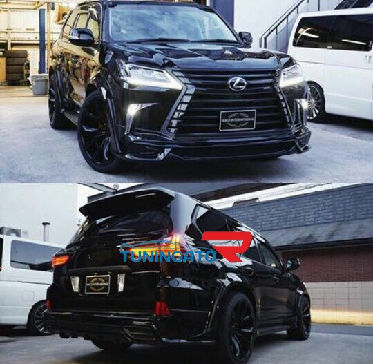 """Аэродинамический обвес """"WALD"""" для Lexus LX570 2015+"""