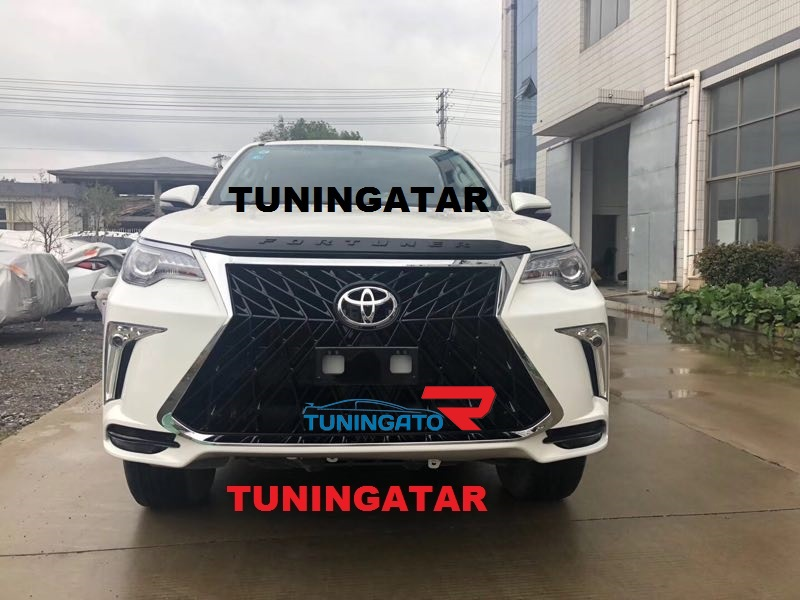 Бампер TRD Superior для Toyota Fortuner 2017г.