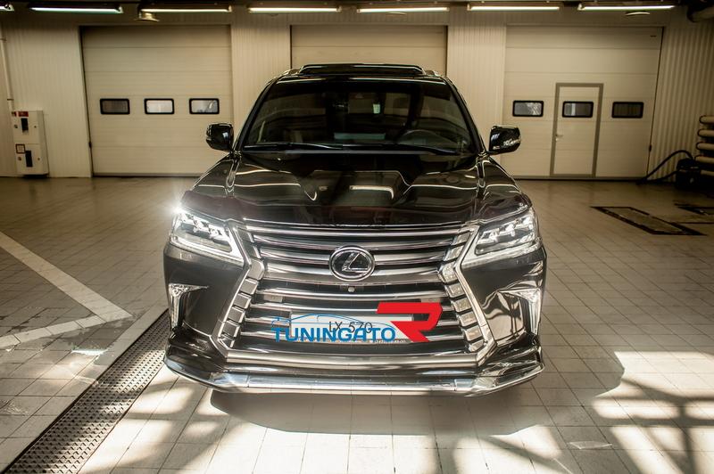 """Аэродинамический обвес """"Modellista V2"""" Тайвань для Lexus LX570 2015+"""