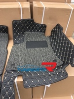 Коврики 3D из экокожи двухслойные для Subaru Forester 2013г+
